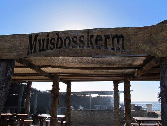Lamberts Bay, Sydafrika: Muisbosskerm Entrance