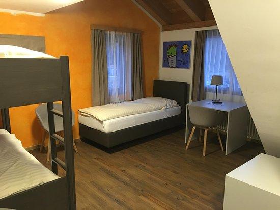 Alte Brauerei Hotel-Restaurant: 4-5 Bett Zimmer