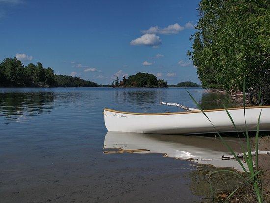 Lansdowne, Καναδάς: The open waters beckon.