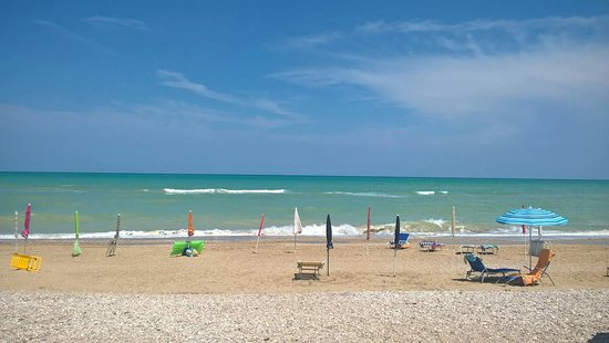 camping pineto beach