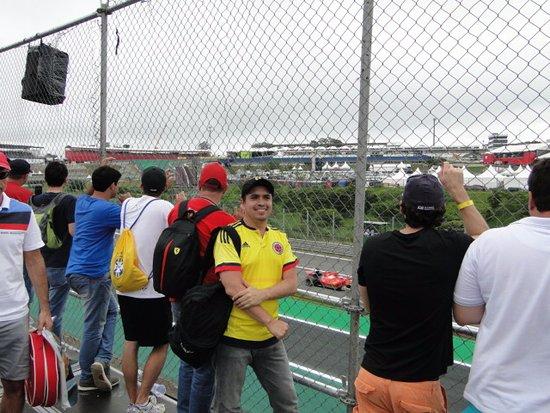 Interlagos Circuit: Los vehículos en carrera