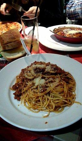 Bar Napoli: Spaghetti bolognese