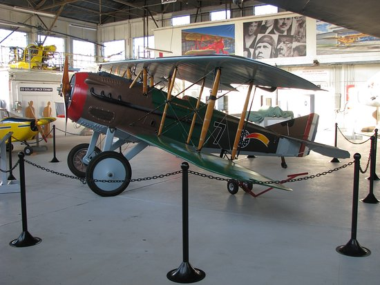 Chico, Kalifornien: Full-size replica of a 1917 SPAD XIII