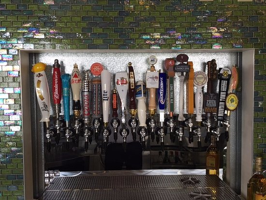Tiffin, OH: 20 beers on tap.