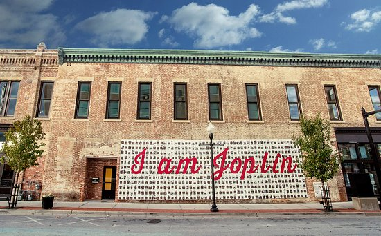 I am Joplin Mural, Downtown Joplin