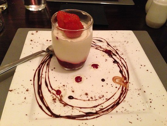 Callander, UK: pannacotta