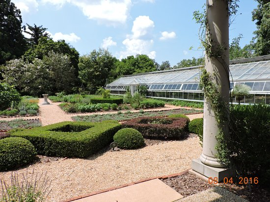 LaGrange, GA: Some of the gardens with hot house.