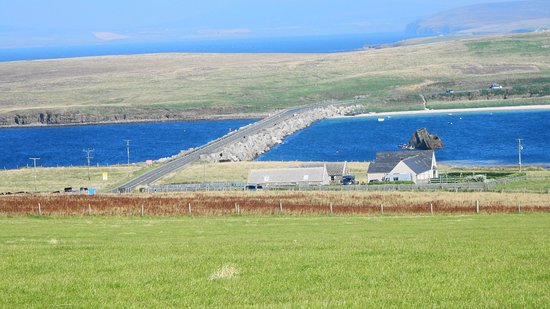 Maxi Day Tour of Orkney: Churchill Barrier at Scapa Flow