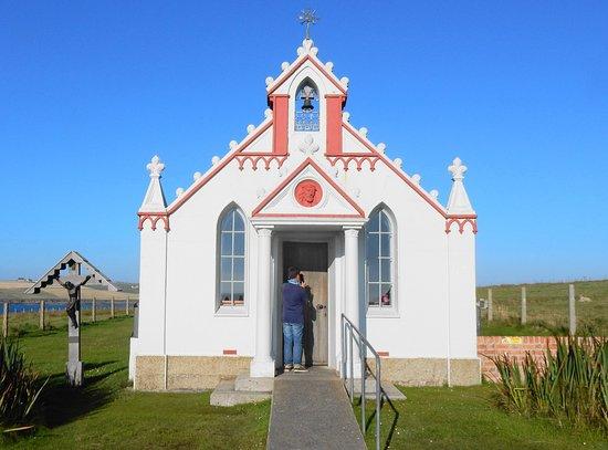 Maxi Day Tour of Orkney: Italian Chapel built by italian POWs