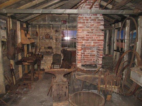 O'Leary, Канада: Ancienne boutique de forge dans le musée