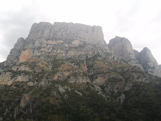 Epirus, Grekland: vikos gorge