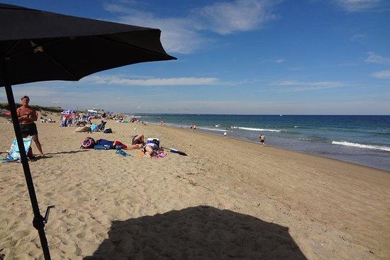 Looking north at Salisbury Beach