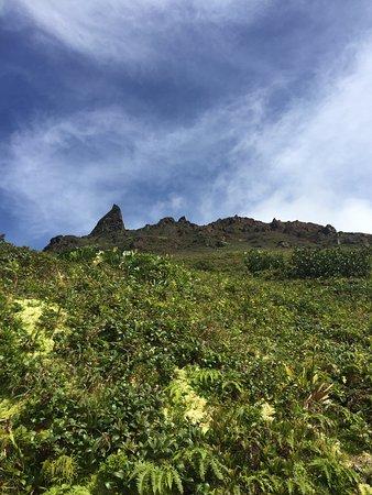 Saint-Claude, Gwadelupa: Y'a plus qu'à grimper en haut