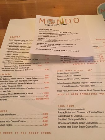 Mondo Restaurant New Orleans Lakeview