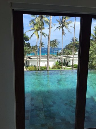 The Racha: master bedroom double bedroom pool villa