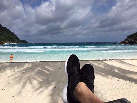 Ko Racha Yai, Таиланд: yes my Nike shoes...