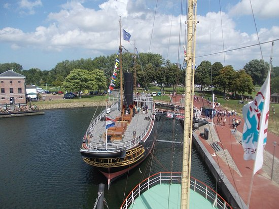 Hellevoetsluis, Holandia: De Buffel - Seen fron the lightship Noord Hinder