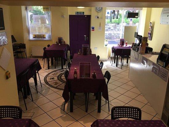Conisbrough, UK: Cyber Dining Area....
