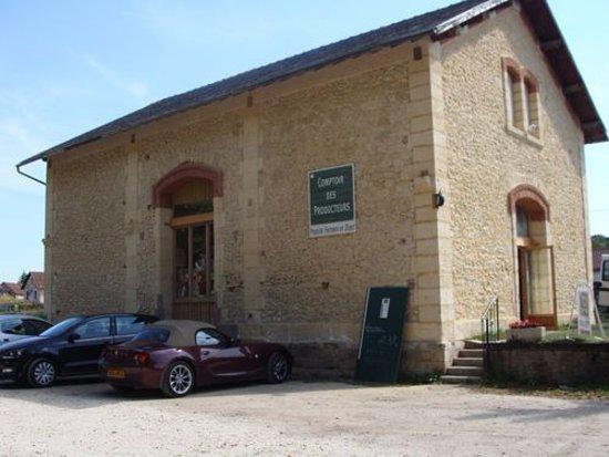 Siorac-en-Périgord, ฝรั่งเศส: Le comptoir des producteurs