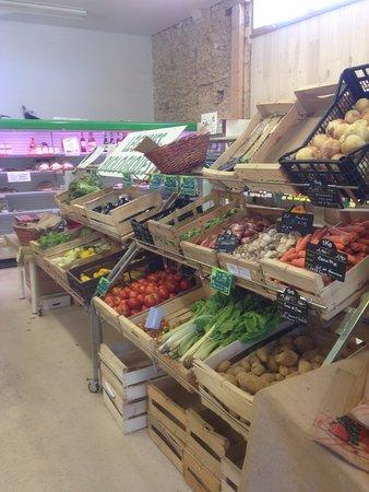 Siorac-en-Périgord, ฝรั่งเศส: Légumes de saison