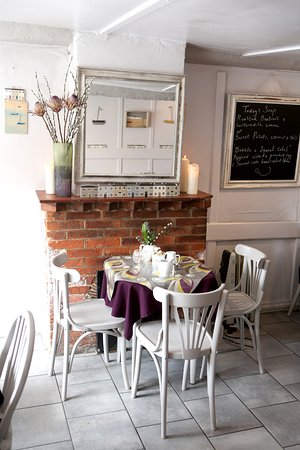 Alfriston, UK: Our cosy interior