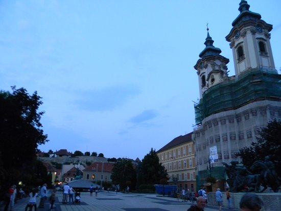 Eger, Hungary: dobo square
