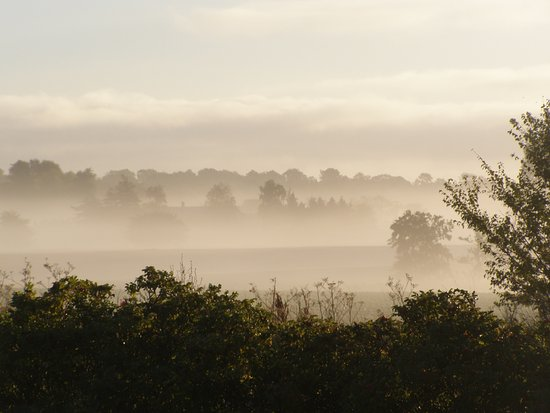 Roedby, Dania: Taget en tidlig morgen.