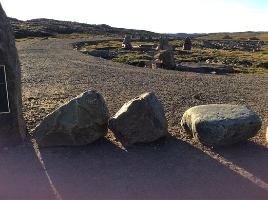 Iqaluit, Canadá: Tasiluliariaq Rotary Park on the Road to Nowhere