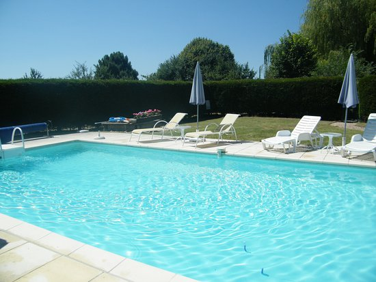 Le-Petit-Pressigny, Frankrike: great swimmingpool