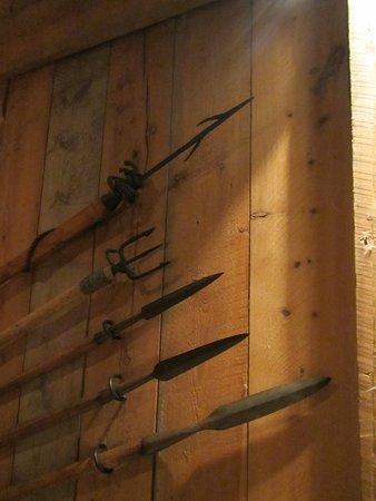 Vestvagoy, Norwegia: Spears made by the Viking blacksmith