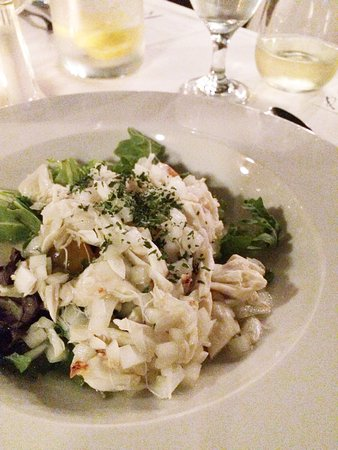 Troy, AL: 5 Course Wine Dinner, Summer: West Indies Salad with lump crab