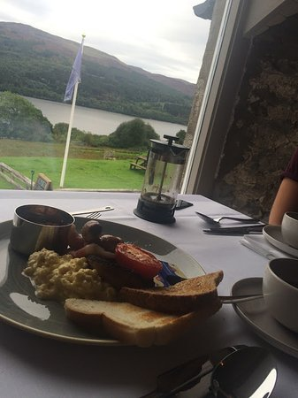 ‪‪Strath Tummel‬, UK: Delicious breakfast and beautiful scenery!‬