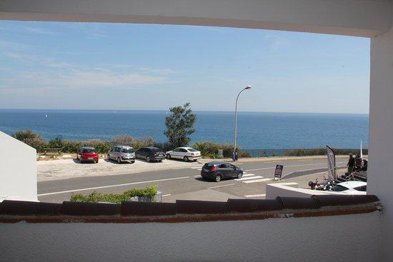 Sol Hotel: Vue à partir de la terrasse