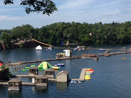 Portland, CT: Brownstone adventure park