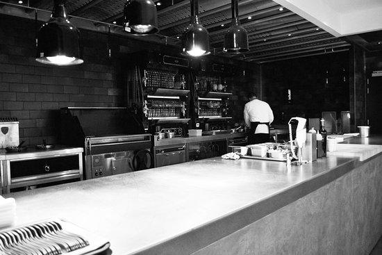 Knokke, Belgium: Cuisine ouverte