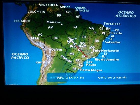mapa tempo real Mapa do Voo, muito legal, localização, altura, velocidade em tempo  mapa tempo real