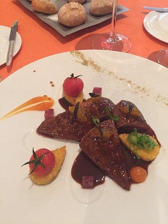 Sierre, Zwitserland: Restaurant Didier de Courten