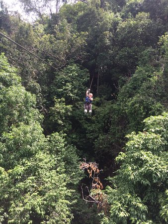 Mae Nam, Tailandia: You really are in the treetops