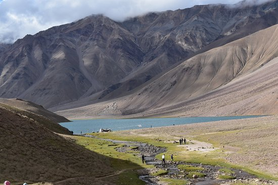 Lahaul and Spiti District, Indien: view from afar