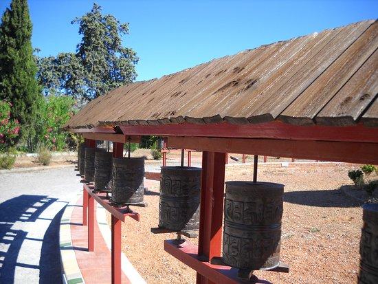 Olivella, Spanje: molinillos de oracion