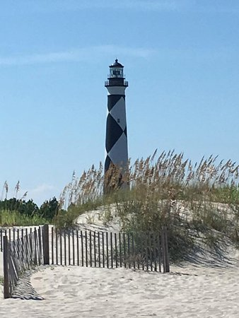 Lookout Cruises: Beautiful August day at Cape Lookout Lighthouse