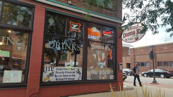 Black River Falls, WI: Donna K's from the outside