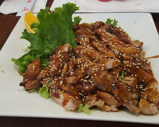Ripon, Californie : Teriyaki chicken for out Oklahoma Family member who likes cooked food. Ha ha!