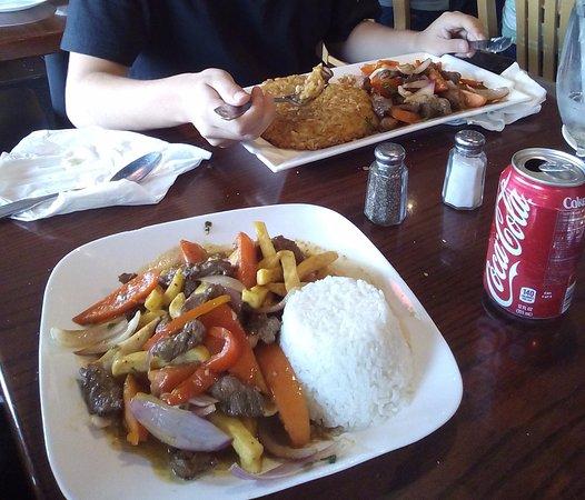 El Chalan Restaurant: Lomo Saltado y Tacu Tacu