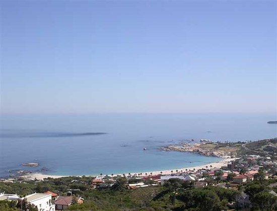 Camps Bay Villa beach view