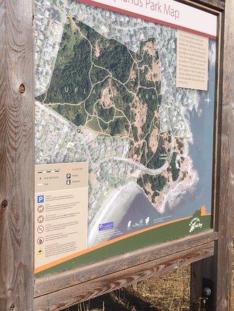 Oak Bay, Καναδάς: the map of the park