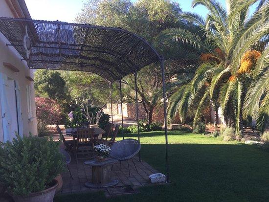 Calenzana, Frankrike: Terrasse