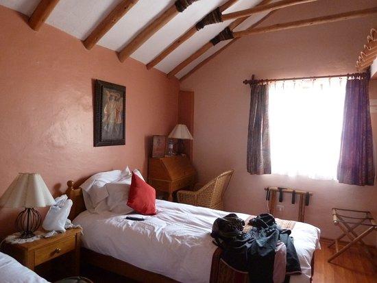 los apus hotel mirador chambre twin avec salle de bain vue sur verrire - Chambre Avec Salle De Bain Verriere