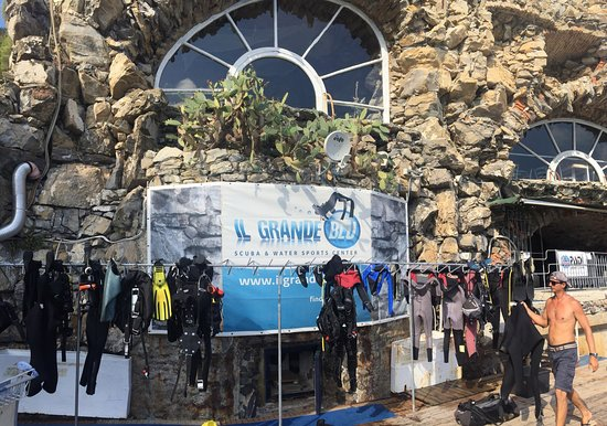 Il grande blu diving center santa margherita ligure all you need to know before you go with - Dive center blu ...