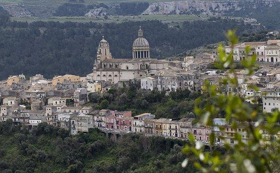 Ragusa, Italie : Vista Panoramica